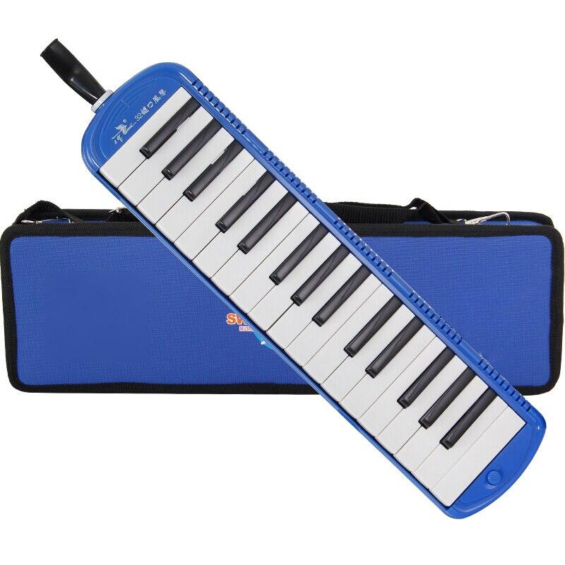 32-مفتاح المهنية ميلودي البيانو نمط YUEKO مع الفاخرة حمل الجهاز الفم مع مجموعة أدوات لوحة المفاتيح Blowpipe