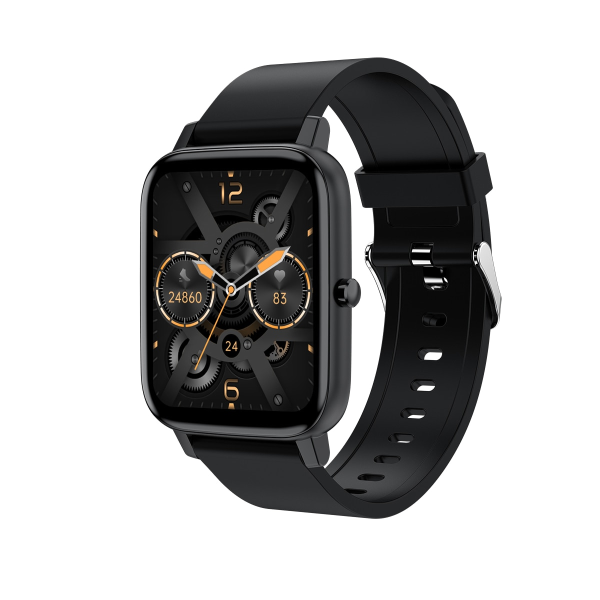 The New H80 Smart Watch 1.69 High-Definition Touch Screen Supports Bluetooth 5.0 Link APP Can Be Customized More Than Language