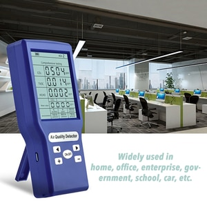 Protable Air Quality Tester TVOC CO2 PPM Meters Mini Carbon Dioxide Detector Multi Gas Analyzer