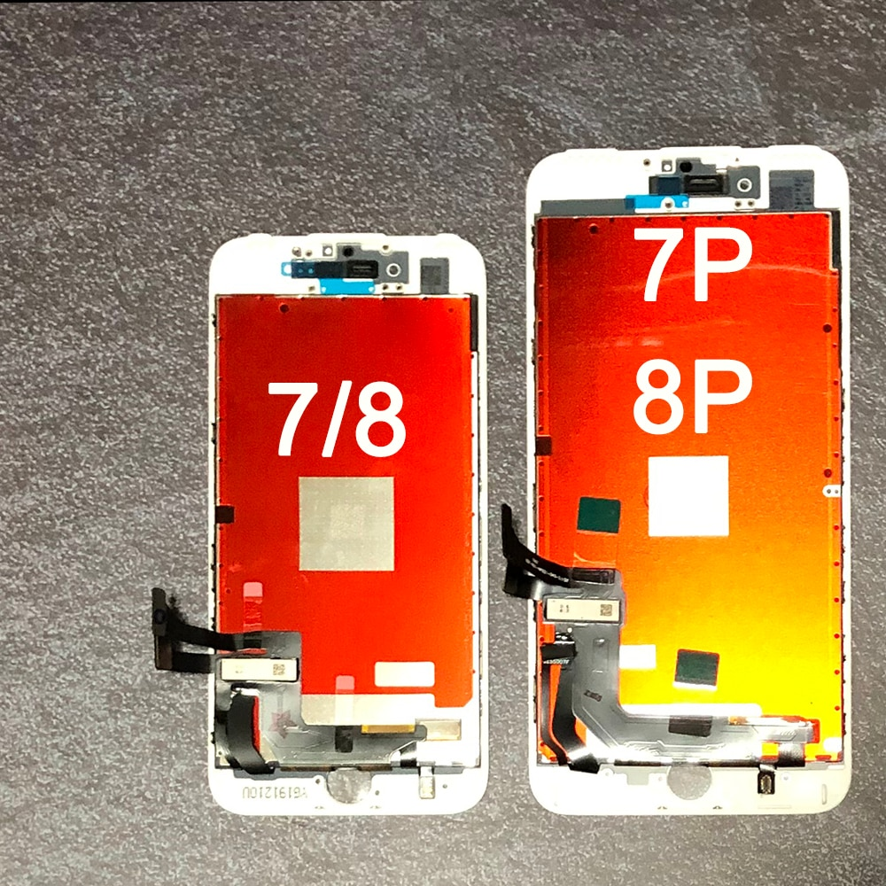 Replacement For iPhone 7 LCD Screen Digitizer Assembly with Display Touch For iphone 7 plus LCD For iphone 8 LCD for iphone 8p enlarge