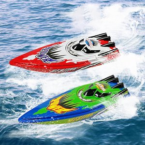 Radio Remote Control Twin Motor High Speed Boat Rc Racing Children Outdoor Racing Boat R/C Boat Speed Boat