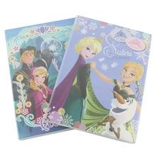 Frozen cartoon notebook Disney Creative Student Notepad exercise book school supplies