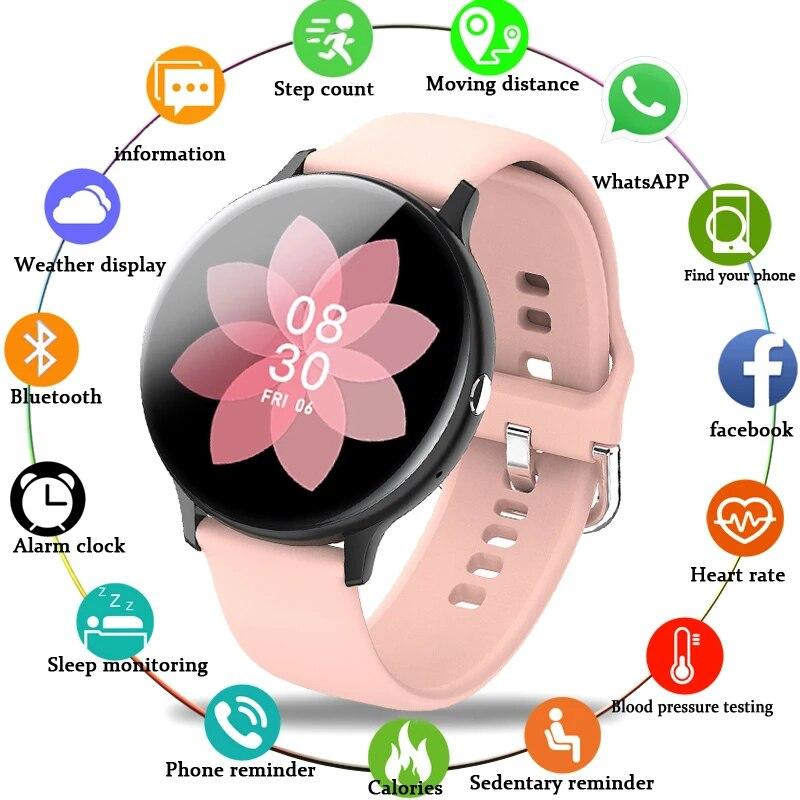 Новинка 2021, смарт часы с Bluetooth для мужчин и женщин, спортивный режим, монитор сердечного ритма и артериального давления, Смарт часы с трекером активности|Смарт-браслеты| | АлиЭкспресс