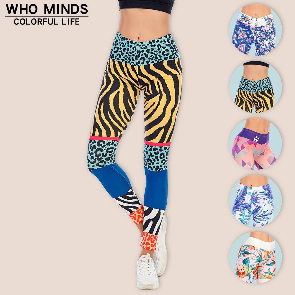 AliExpress - Animal Pattern Workout Lggins Fashion High Waist Legging Slim Elasticity Push Up Fitness Leggins Sexy Gym Leggings Women Pants