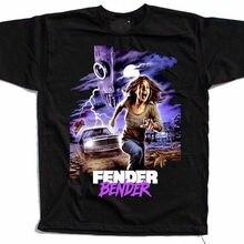 Футболка с графическим принтом Fender Bender, футболки с ужасами для джиу-джитсу, военные футболки, 2020 новости Pkhijm