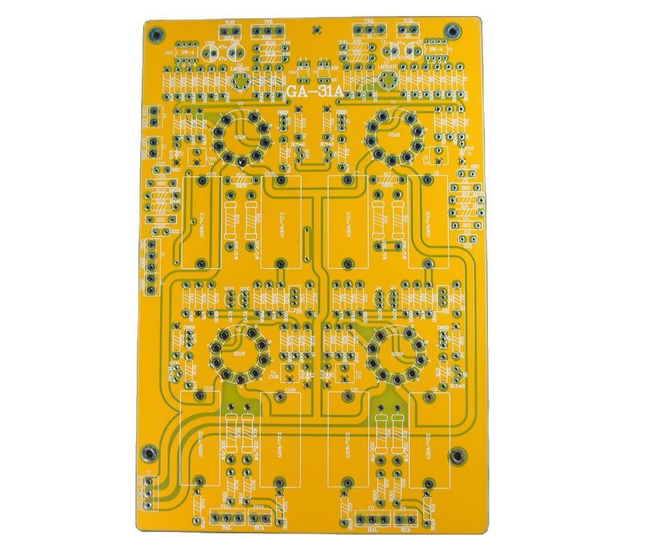 Ga-31A tubo cabeça amplificador mc/mm pcb placa vazia 6dj8 tubo amplificador