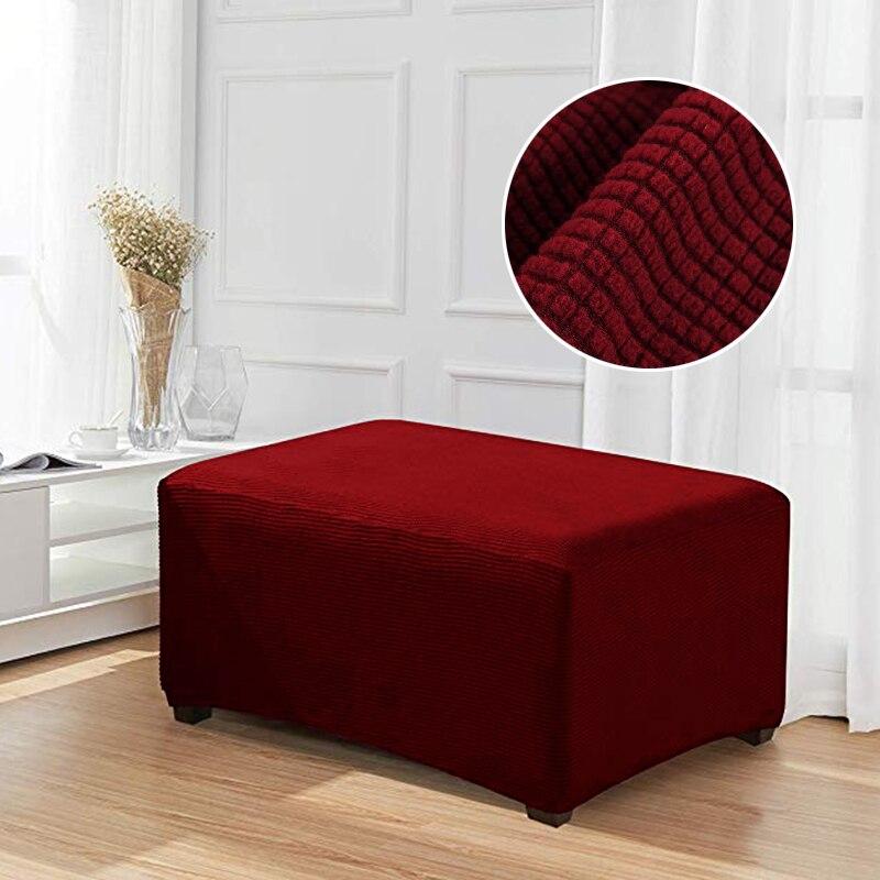 Lإلين مسند القدمين غطاء غطاء أريكة مقعد يغطي تمتد العثماني يغطي رخيصة الأريكة حامي مرونة فوتون طويل مقاعد البدلاء يغطي