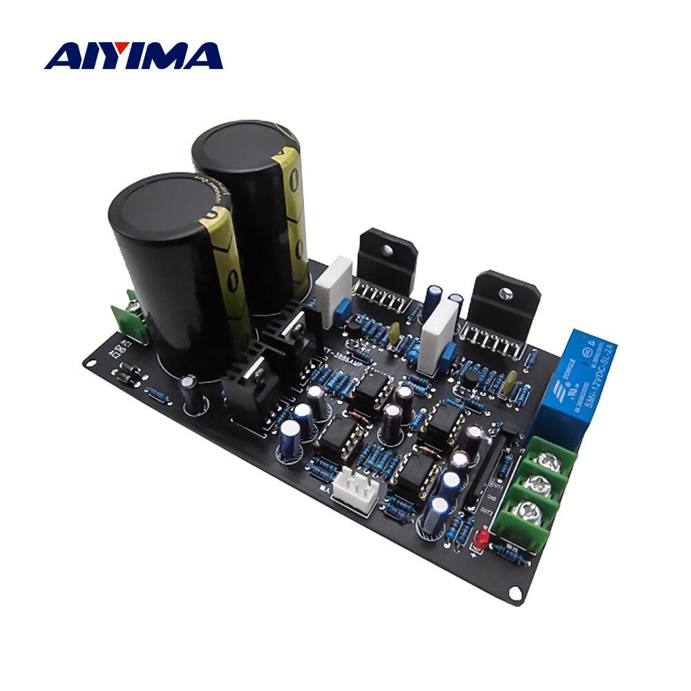 AIYIMA-لوحة صوت ، مضخم طاقة ، قناة مزدوجة ، ستيريو ، NE5532 OP Amp ، LM3886