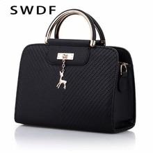 SWDF sacs à main 2020 nouvelles femmes en cuir sac grande capacité sacs à bandoulière décontracté fourre-tout simple haut-poignée sacs à main femmes sacs dames