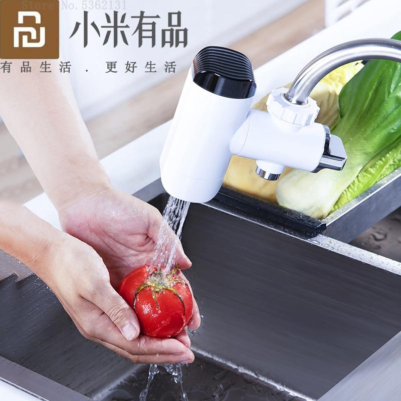 Xiaoda لحظة صنبور الماء الساخن المطبخ سخان مياه التدفئة الباردة صنبور LED عرض درجة الحرارة لحظية سخان مياه الحنفية