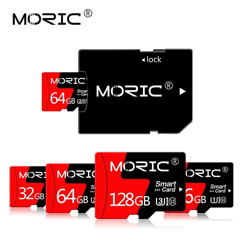 Original Moric Class 10 Micro sd 128GB 256GB TF Cards 32GB 64GB sd card 128GB 16GB microsd 4GB 8GB Memory card for phone and PC