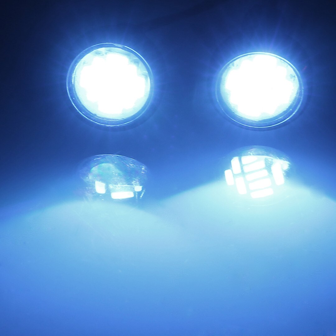 DC 3V-12V LED 2W Blue White Front Light Headlight Spotlight Replacement Front Lights For 1:10 RC Car Accessories enlarge