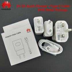 Original huawei carregador rápido qc 2.0 adaptador de carga rápida usb tipo c cabo para huawei honor 9 nova 5i 2 3 3e 4 5e p20 lite p9 p10