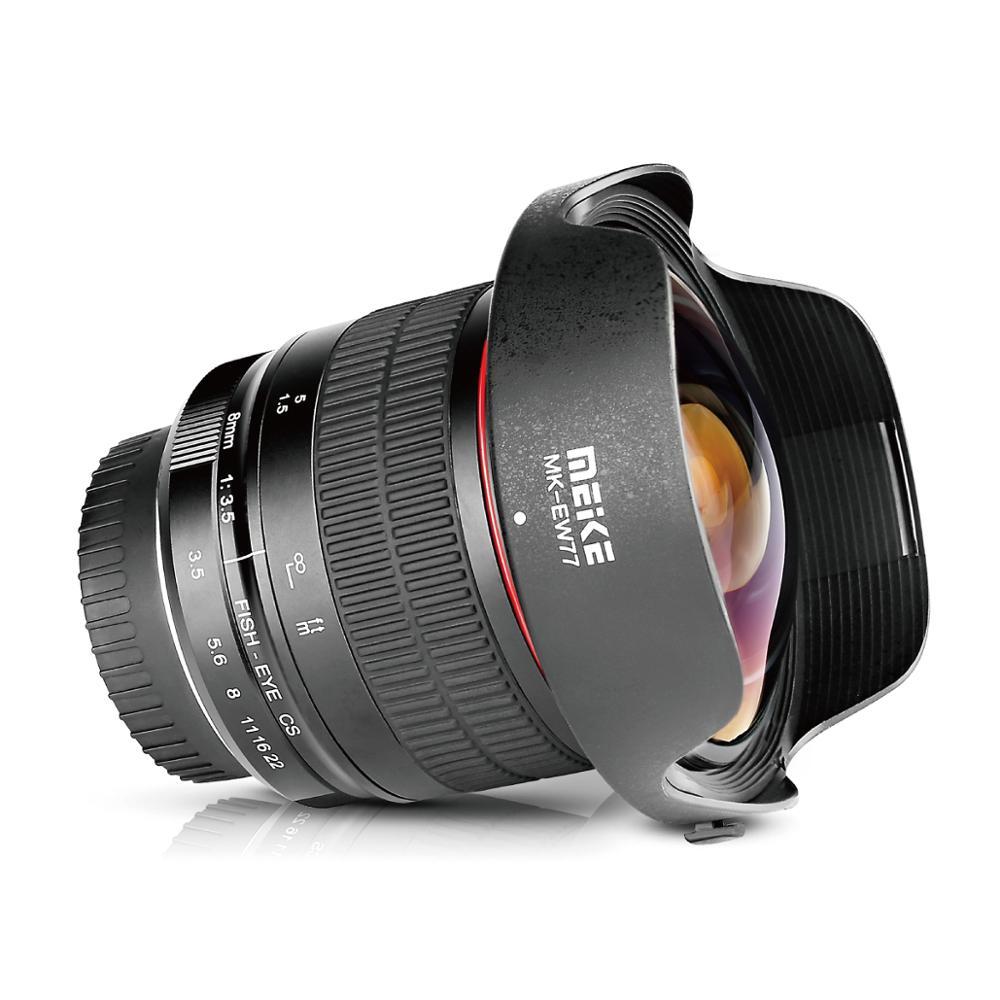 Hacer la MK 8mm f3.5 ultraancho lente de ojo de pez para cámara de DSLR de NIKON D500/D7200/D5500/D3400/D3200/D3000with APS-C/completa + regalo gratis