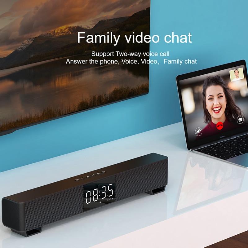 mifa Soundbar K3 Bluetooth Speaker 2 Stereo Sound Big Digital Display Wireless Bluetooth 5.0 Support TWS enlarge