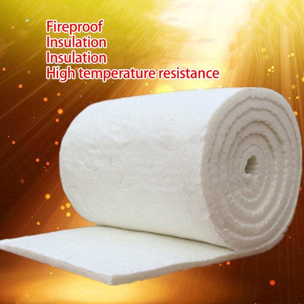 Manta de aguja de silicato de aluminio, manta de aislamiento de fibra de cerámica, Manta de algodón ignífuga de aislamiento de caldera de alta temperatura