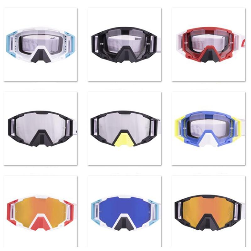 Moto Sunglasses Outdoor Goggles Motocross Glasses for Off-Road ATV Dirtbike Cycling Pit-Bike Enduro Racing Men Women Helmet