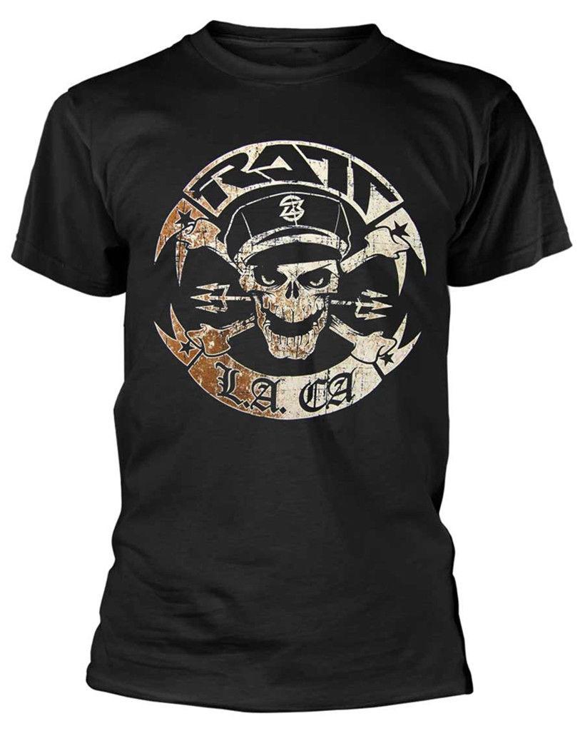 Camiseta Ratt Vintage Ratt biker-¡Nueva y oficial!