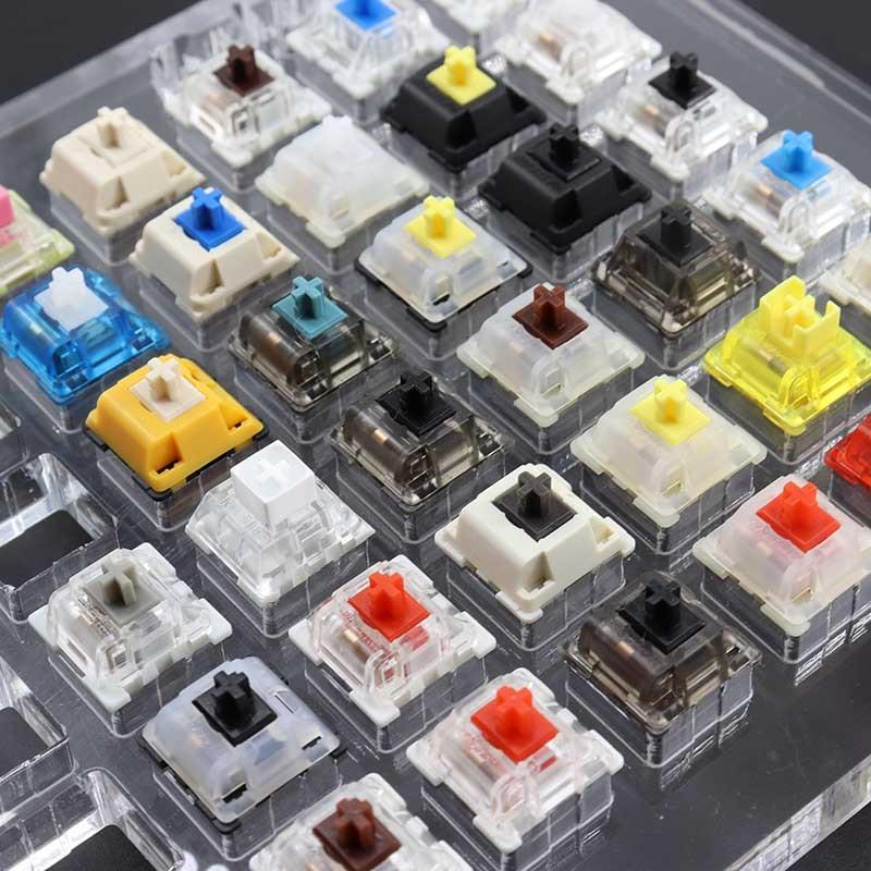 اختبار التبديل لمفاتيح لوحة المفاتيح الميكانيكية للاختبار