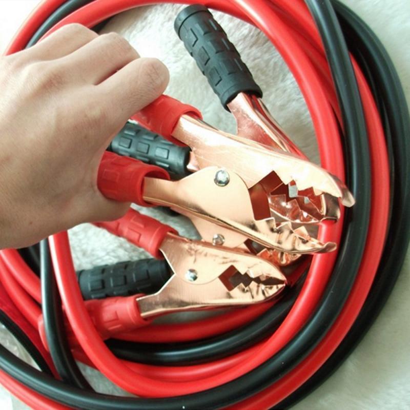 500 ампер аварийный силовой пусковой кабель качественный усилитель соединительный кабель автомобильный аккумулятор Перемычка бустер линия медный провод