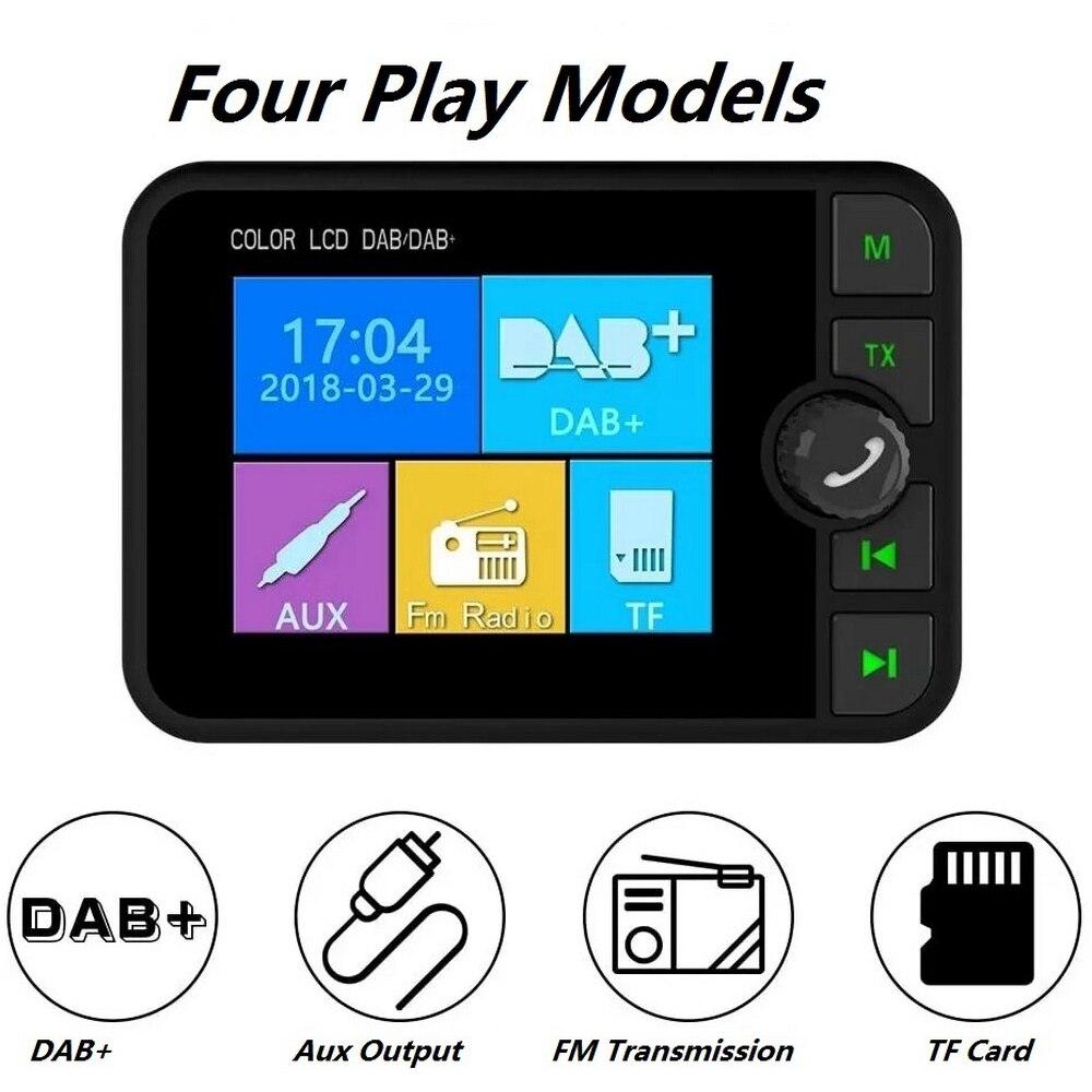 Coche Radio Digital DAB receptor Bluetooth MP3 reproductor de música de emisión...