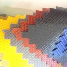Tissu oxford à double brin 10 m * 150cm 1680D   Revêtement imperméable épais, rideau isolant de pare-brise en tissu pour bagages