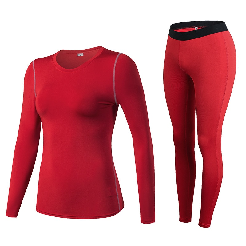 Fanceey مكافحة الميكروبية ملابس اخلية حرارية النساء سريعة الجافة طويل جونز للنساء الجلد الثاني الشتاء الإناث الحرارية أطقم داخلية جريمي