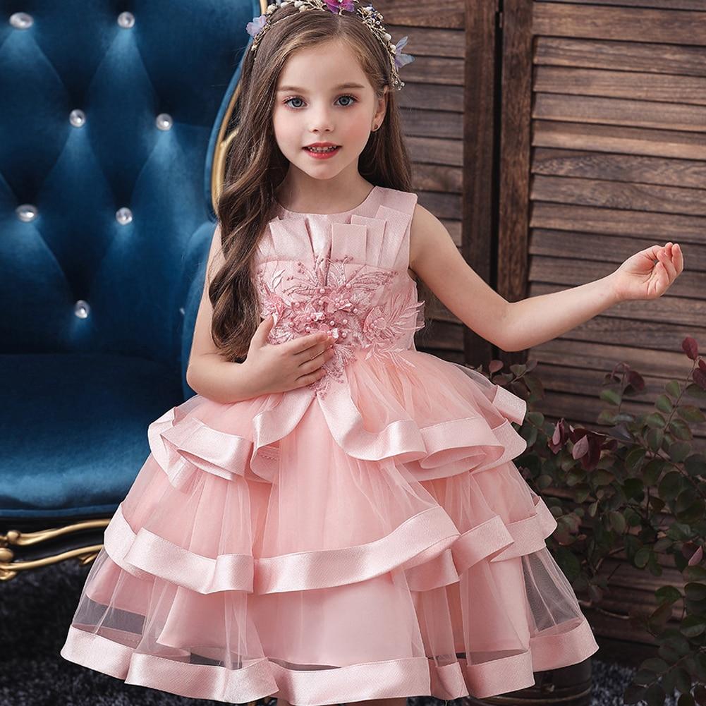 Красивые Платья Для Девочек 3 4