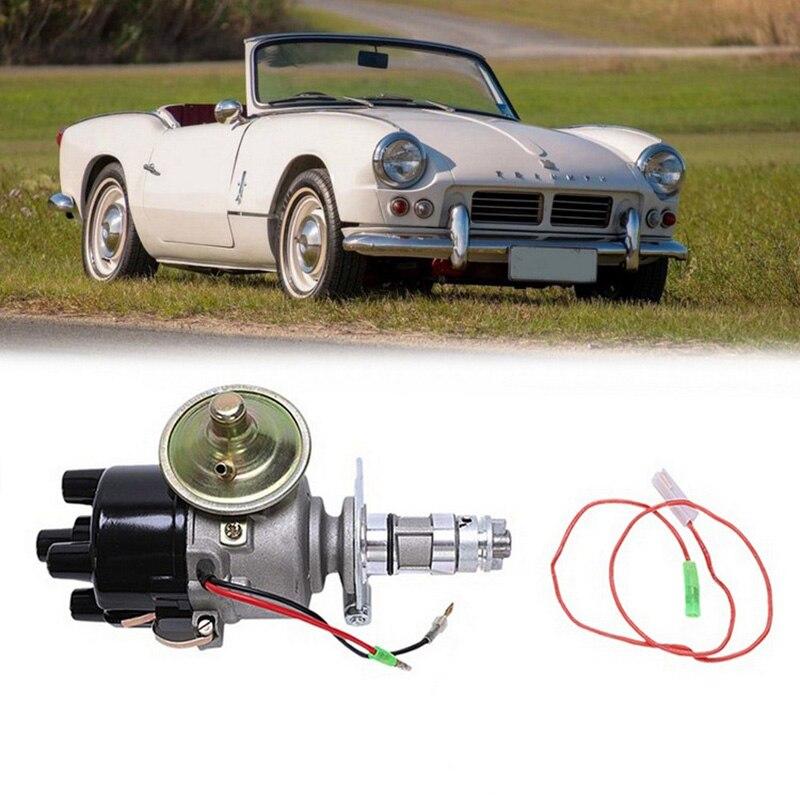 Lucas 45D 25D распределитель электронного зажигания для мини Mgb Austin Triumph и т. Д. 4 прокладка головки блока, цилиндры, детали двигателя автомобиля спортивные аксессуары