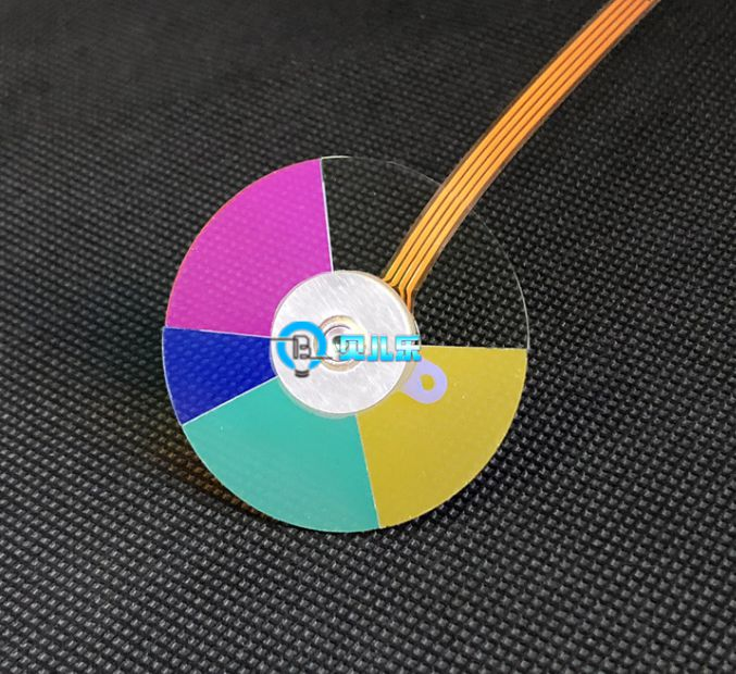 100% new projector color wheel for VIVITEK DS234 ds234