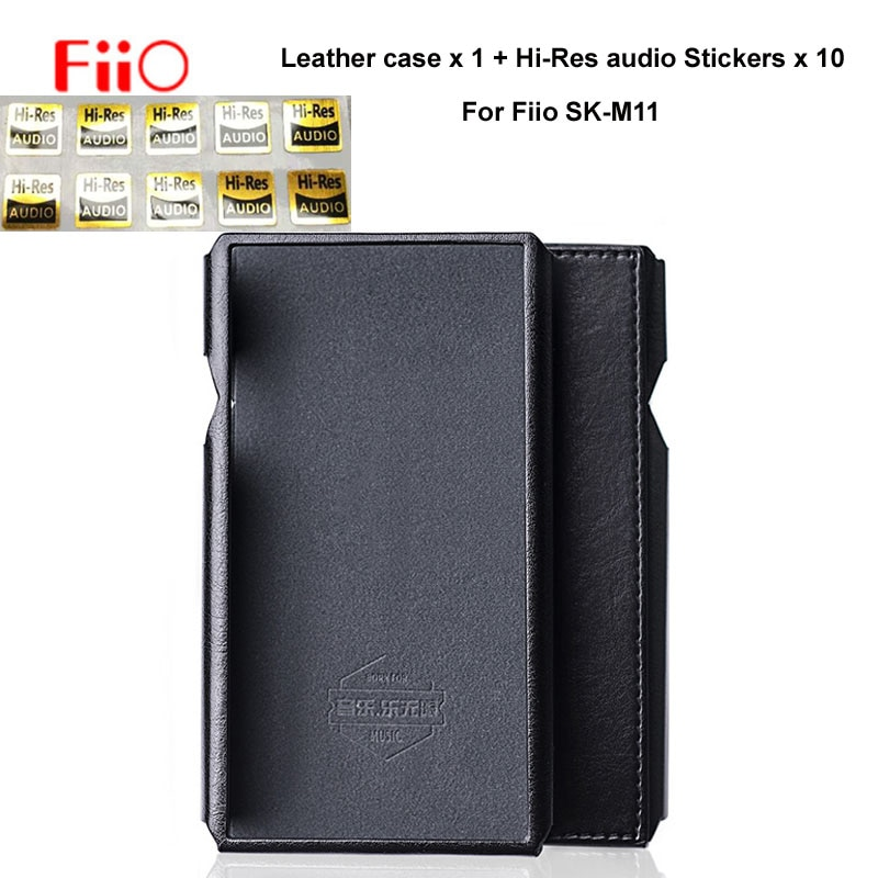 For FiiO SK-M11 C-M11 Protective Leather case for M11 Music Player