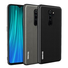 For Xiaomi Redmi Note 8 Pro Case Carbon Fiber Texture Leather Cover Full shockproof Case for Xiaomi MI 9T Redmi K20 Pro Case