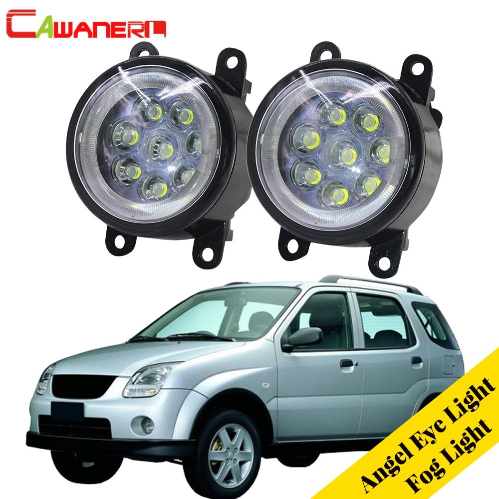 Cawanerl For 2003-2008 Subaru Justy III (G3X) Hatchback Car LED Lamp Fog Light DRL Angel Eye Daytime Running Light 12V 2 Pieces