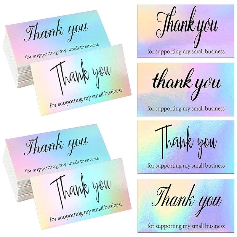 50-pz-pacco-grazie-per-aver-supportato-il-mio-piccolo-biglietto-da-visita-cliente-grazie-per-il-vostro-ordine-biglietto-di-auguri-per-la-festa