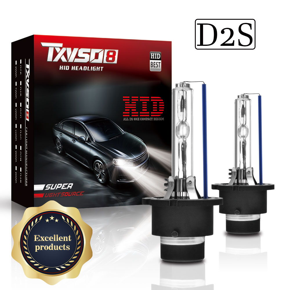oem 2pcs 35w d1s d2s d2r d3s xenon hid bulb 4300k 5000k 6000k 8000k 10000k 12000k hid xenon lamp d2s xenon bulb TXVSO8 Ampoule D2S HID Headlight 9000LM 35W/55W Bulb 4300K 5000K 6000K 8000K 10000K 12000K Car Xenon Headlamps 2020