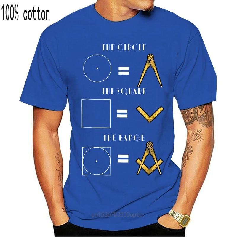 New Clothing Masonic Store Freemason The Badge 4th of July T Shirt Gift 9638(2)