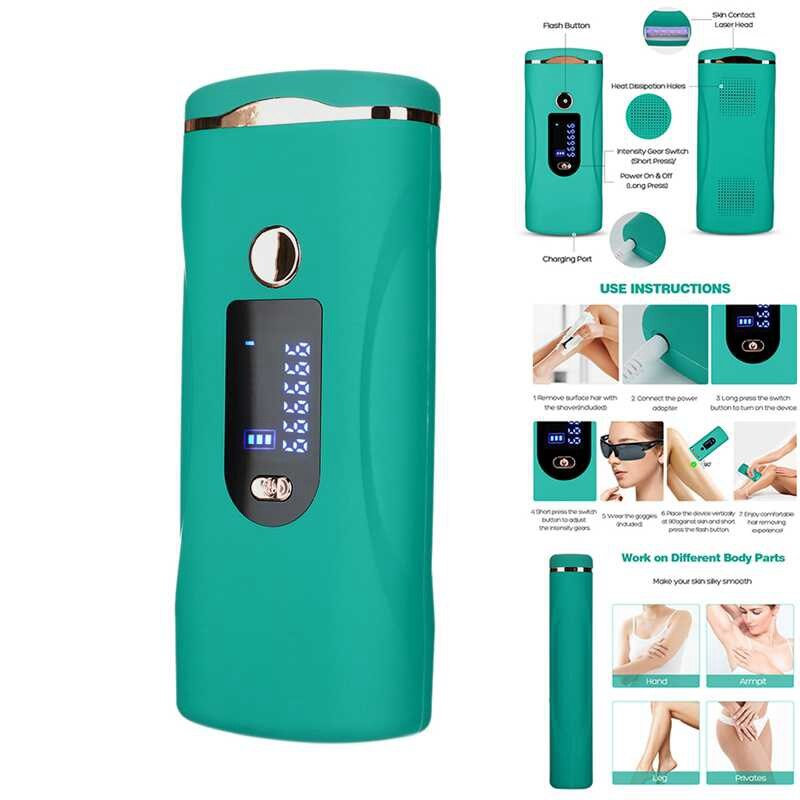 999999 Flash IPL Hair Removal Machine Permanent Epilator Ladies Hair Removal Shaver Hair Removal Clean Fast