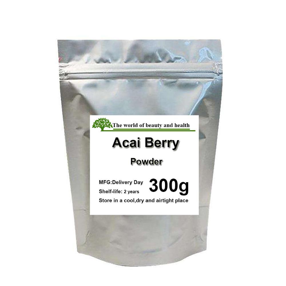 Polvo de baya de Acai 100% Natural puro
