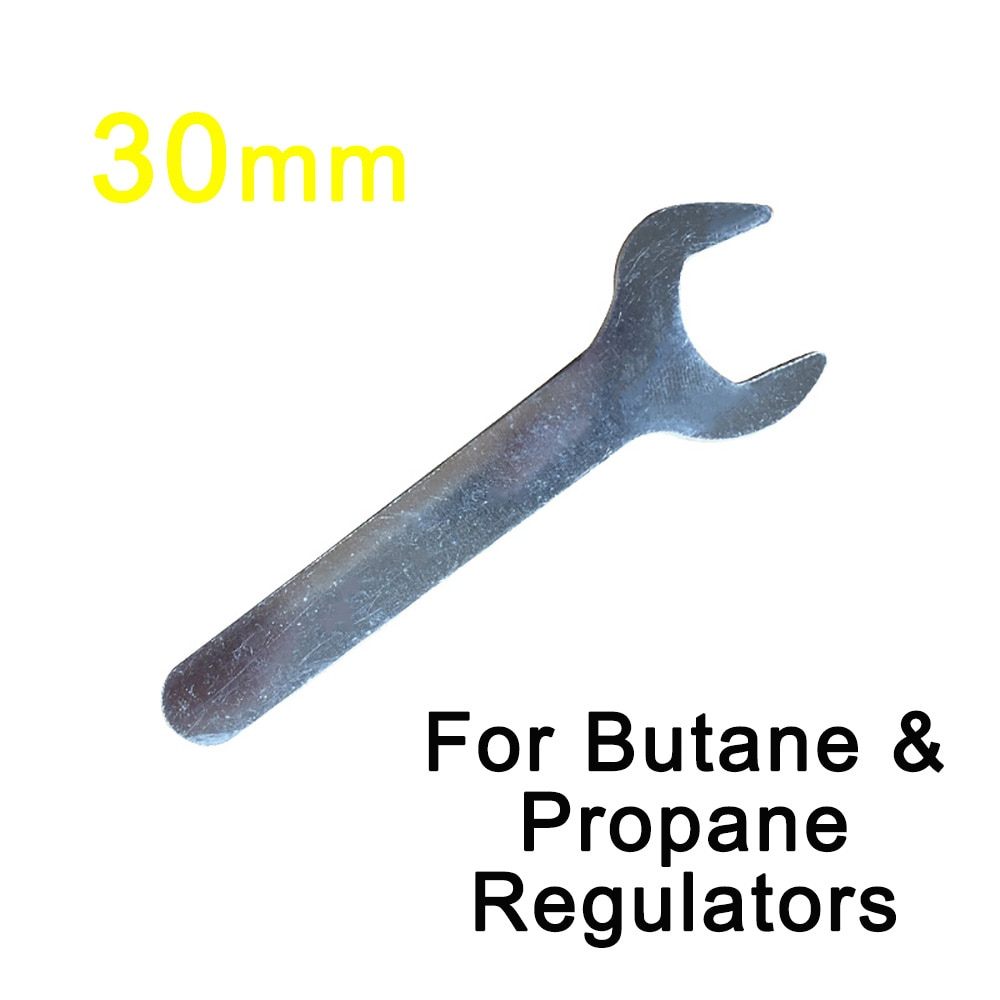 Llave reguladora para botella de Gas, 30mm, propano, butano, Calor LPG POL,...