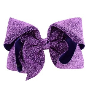 """1 Piece 8"""" Jojo Siwa Hair Bows with Alligator Clips Sequin Glitter Kids Hairpins Barrettes Bling Fashion Party Hair Accessories"""