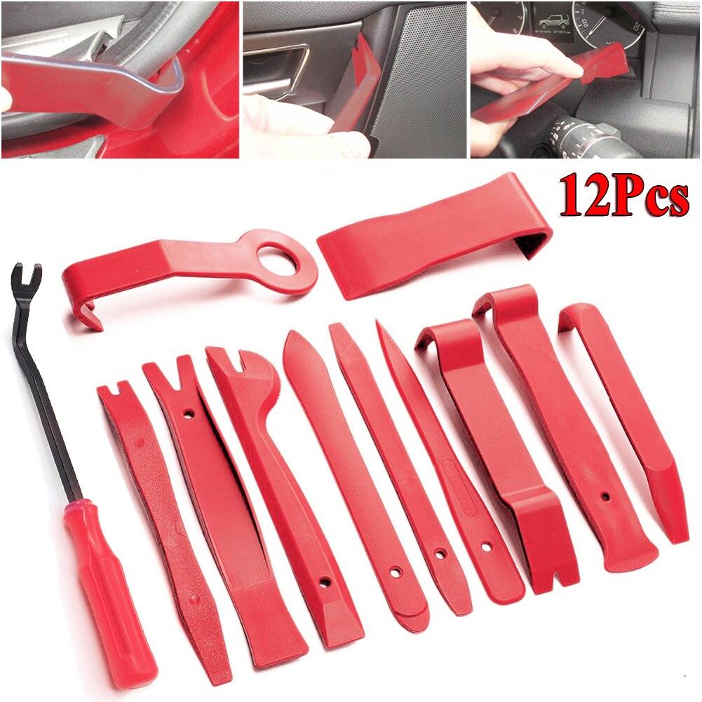 Набор инструментов для удаления обшивки автомобиля, пластиковые инструменты для дверной панели, Клеммник для аудио, автомобильные аксессу...