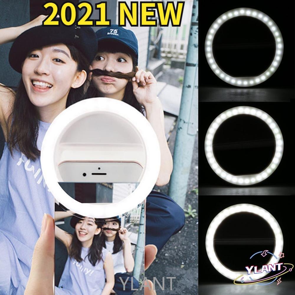 Портативная лампа-кольцо для селфи, 36 светодиодов