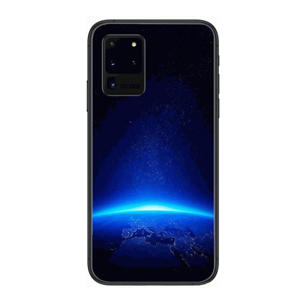 Universe Star Boutique  Phone cover hull For SamSung Galaxy S 6 7 8 9 10 20 Plus Edge E 5G Lite Ultra black soft bumper enlarge