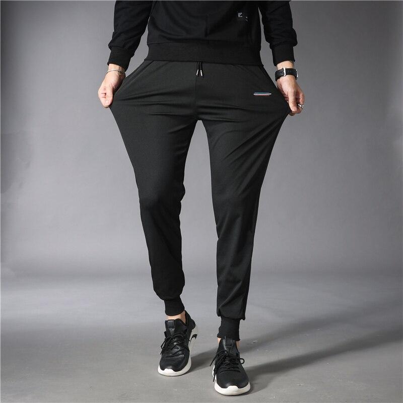 Шаровары мужские из 2021 хлопка, однотонные мешковатые брюки, повседневные брюки, модные мужские прямые поставки, уличная одежда, джоггеры, му...