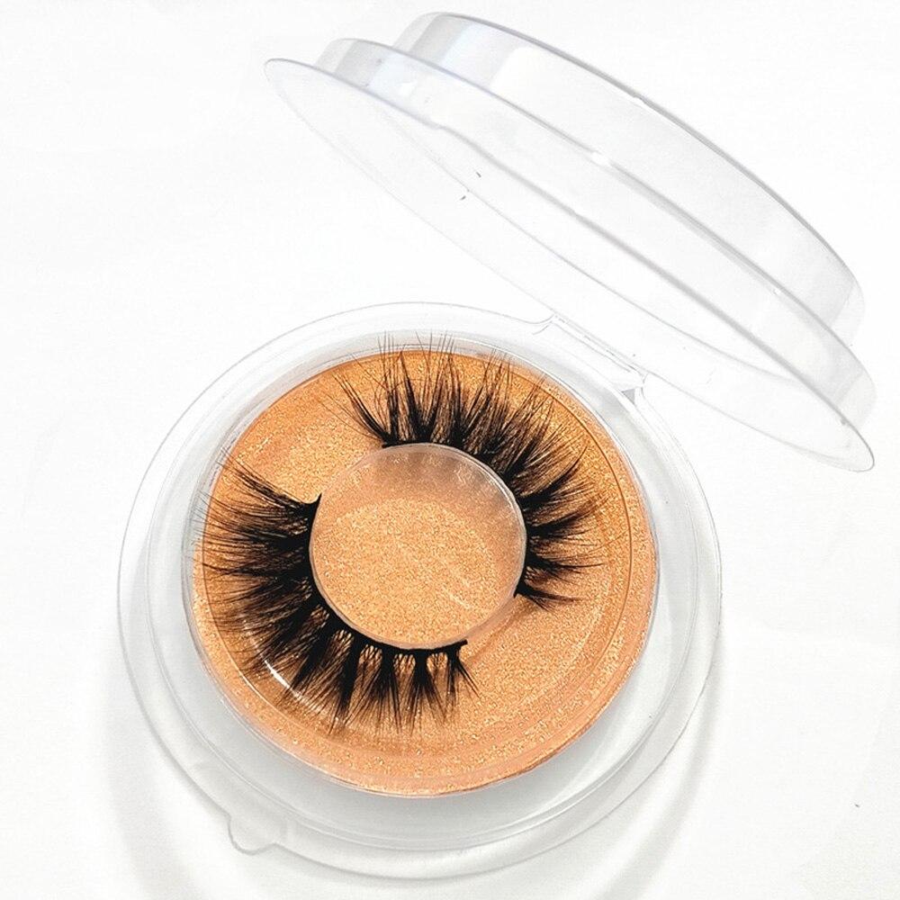 1 Pair 3D Faux Mink Eyelashes Natural Long Soft Wispies Handmade Fluffies Eyelash Extension Lash Wom