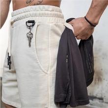 Men Cotton Shorts Men's loose Short Trousers Fitness Bodybuilding Jogger Mens Brand durable Sweatpan