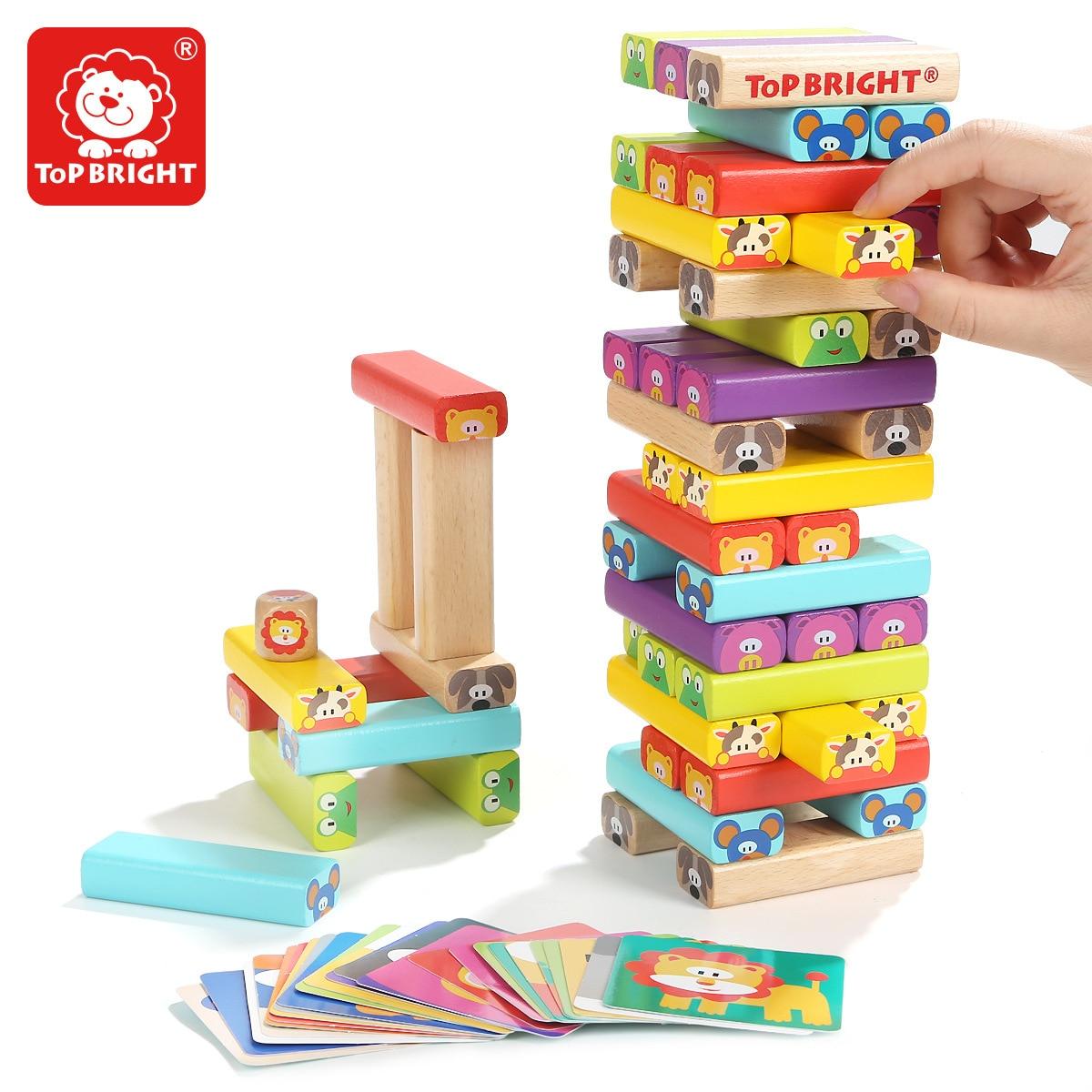 Juguete de construcción de Jenga para niños Chouchoule interactivo para padres e hijos capas adultos ladrillos Pro