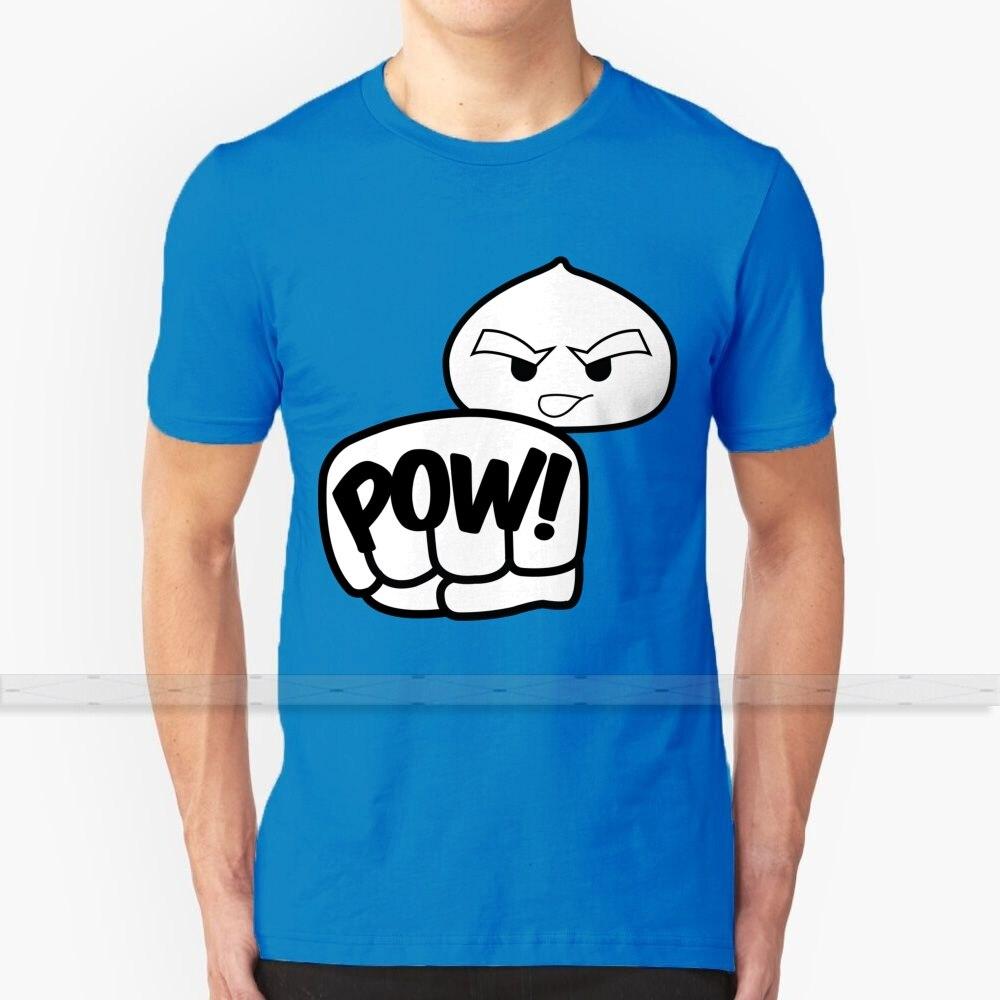 Bollo Filipino al vapor Fighting Siopao por AiReal Apparel camiseta para hombres estampado 3D verano Top cuello redondo mujeres camisetas comida divertida
