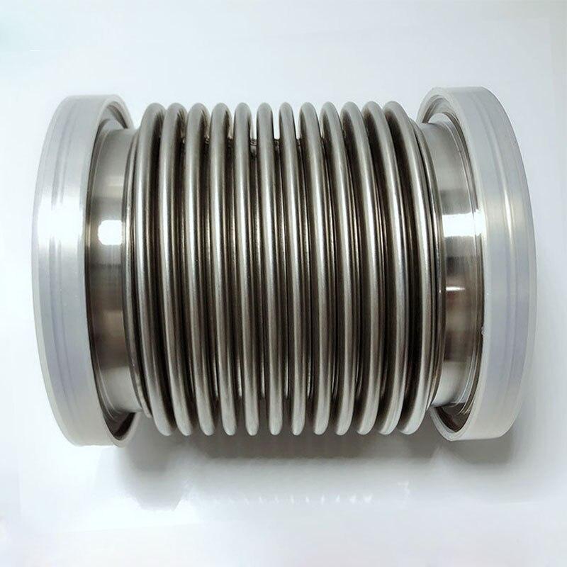 ISO-منفاخ فراغ مرن ذو تشكيل مائي, SS304 خرطوم تفريغ ISO63 ISO80 ISO100 ISO160