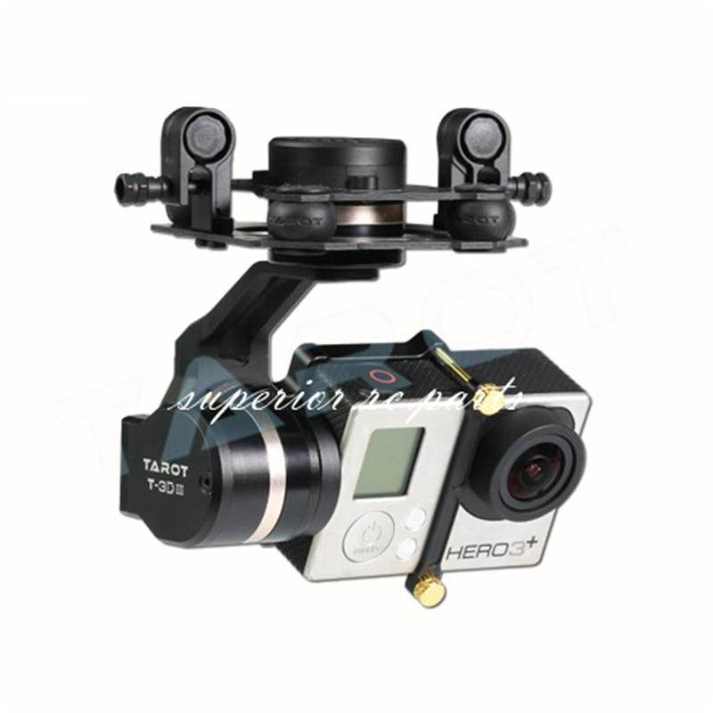 التارو TL3T01 T4-3D المعادن 3-محور فرش Gimbal مع المحرك ل GOPRO GOPRO4/GOpro3 +/Gopro3 كاميرا